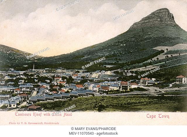 Tamboerskloof (Tambours Kloof), a neighbourhood of Cape Town, and Lion's Head, South Africa