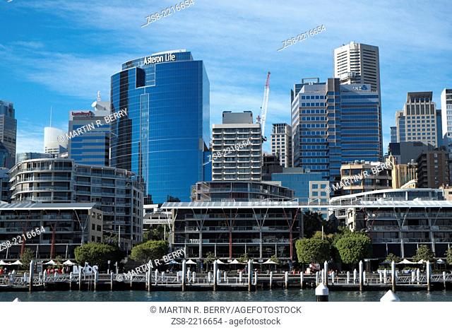 Darling Harbour and Sydney Central Business District,Sydney,New South Wales,Australia