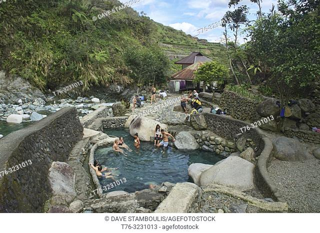 Bogyah Hot Springs, Hapao, Banaue, Mountain Province, Philippines