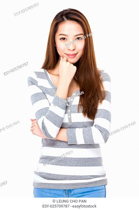 Asian young beautiful Woman