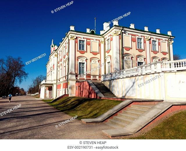 Kadriorg Palace in Tallinn Estonia