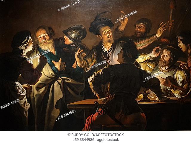 'The Denial of Saint Peter', 1620/25, Gerard Seghers (1591-1651)