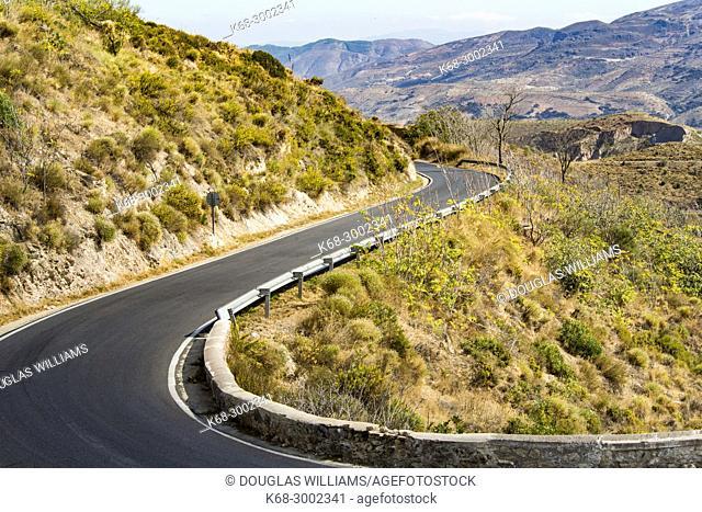 Road. Alpujarras, Spain