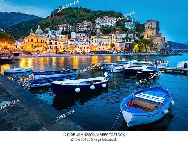 Cetara is a town and comune in the province of Salerno in the Campania region of south-western Italy. It is located in the territory of the Amalfi Coast