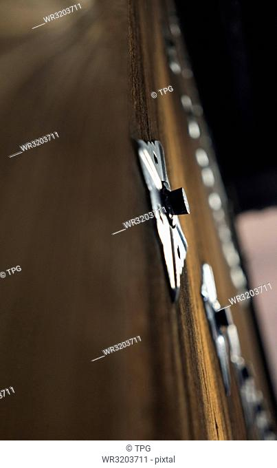 Low angle shot of handle