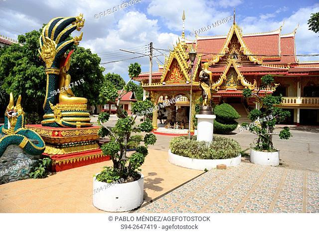 Wat Ing Paeng of Vientiane, Laos