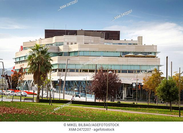 Euskalduna Conference Centre and Concert Hall. Bilbao. Biscay, Spain, Europe