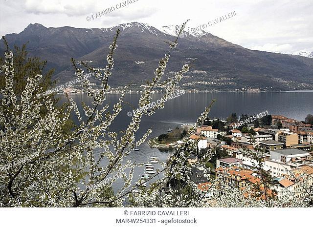 europe, italy, lombardia, como lake, bellano
