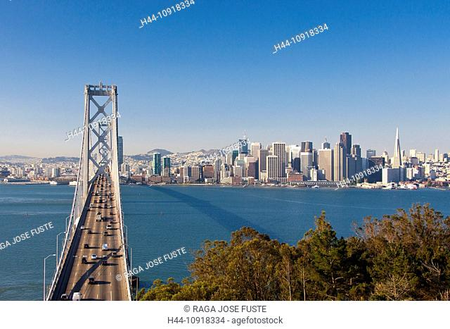 Bay bridge rush hour Stock Photos and Images | age fotostock