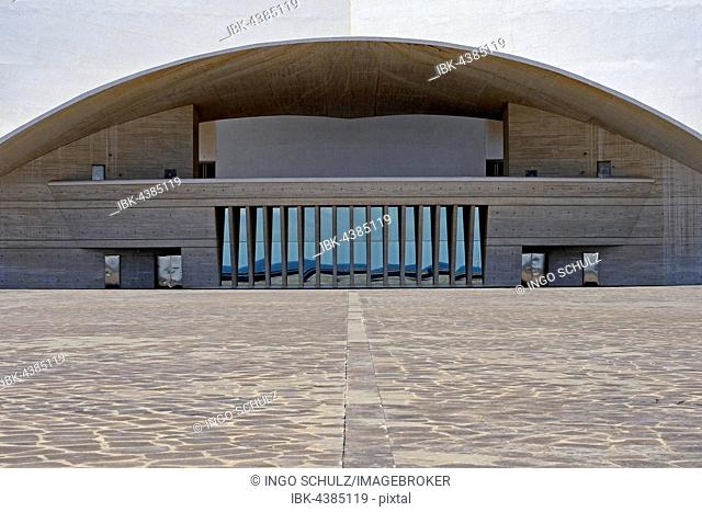 Auditorio de Tenerife by architect Santiago Calatrava, convention centre and concert hall, Santa Cruz de Tenerife, Tenerife, Canary Islands, Spain