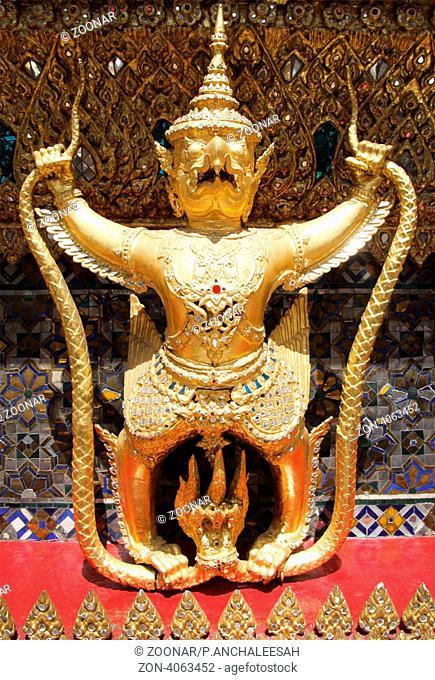 Garuda statue in Wat Phra Kaew temple