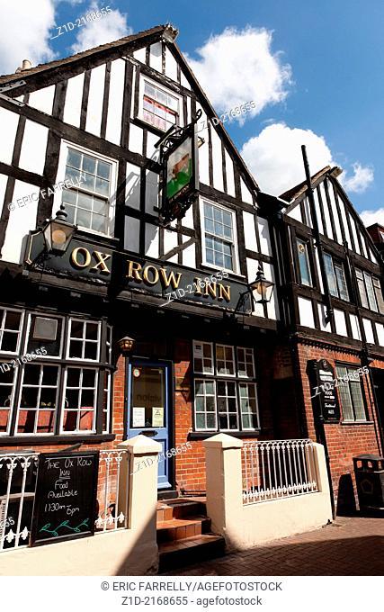 Ox Row Inn sitting on Butcher's Row Salisbury