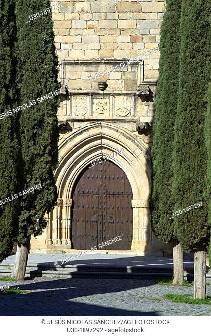 San Pedro Apóstol church XV century, in Garrovillas de Alconétar  Cáceres province  Spain