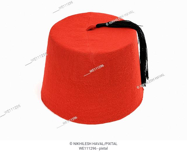 Red magicians hat