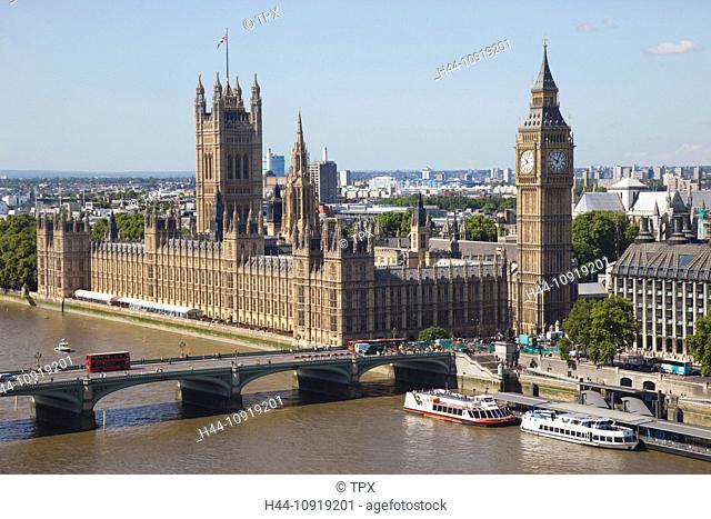 UK, United Kingdom, Europe, Great Britain, England, London, Westminster, Houses of Parliament, Palace of Westminster, Big Ben, Parliament, Landmark