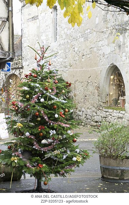 Issigeac is found to the south-east of Bergerac in the Perigord Pourpre region Aquitaine Dordogne France on December 6, 2018