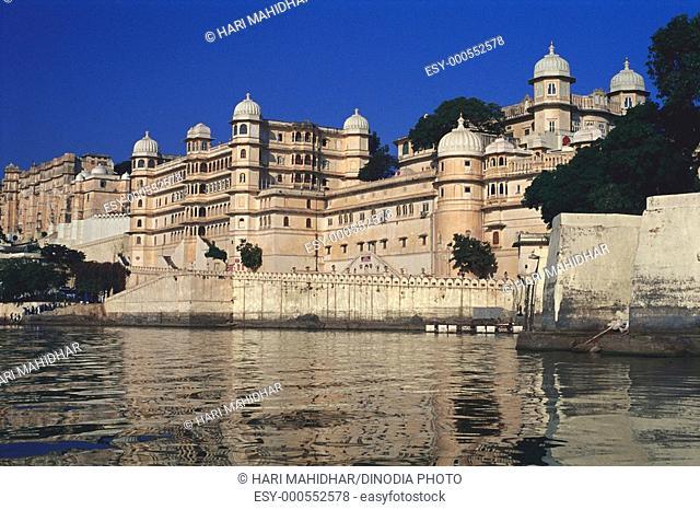 City palace , Udaipur , Rajasthan , India