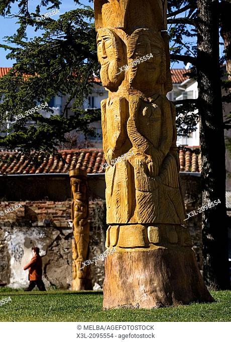 Mokarte park. Huarte. Navarra. Spain