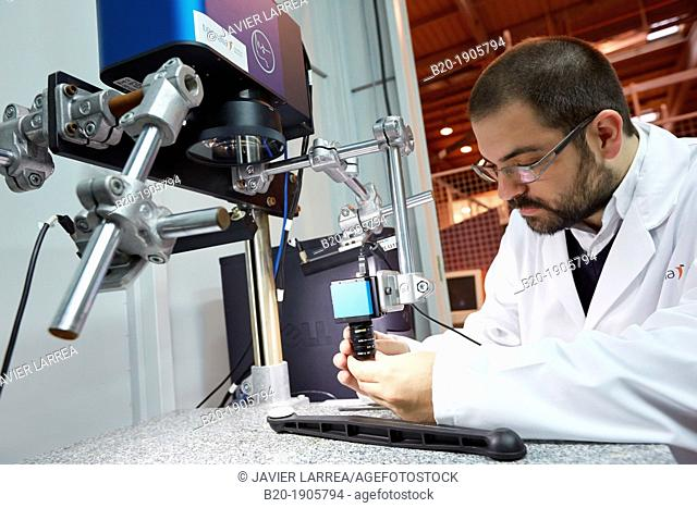 Arges 2D scanner and monitoring system welding of polymers  Industry, Tecnalia Research & innovation, Technology and Research Centre, Zamudio Technological Park