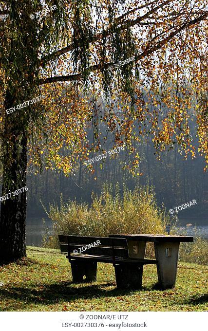 Abschied, autumn