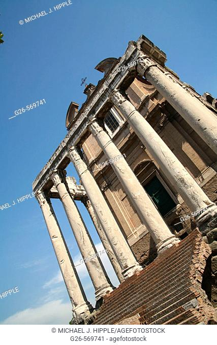 Roman forum, Rome. Lazio, Italy