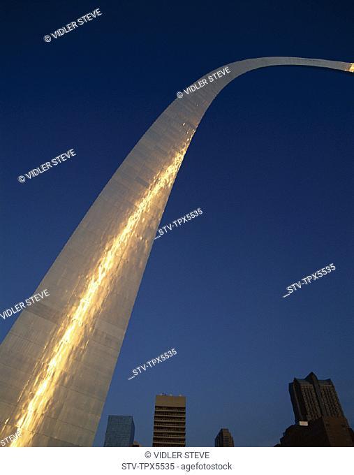 America, Gateway arch, Holiday, Landmark, Louis, Missouri, Tourism, Travel, United states, USA, Vacation