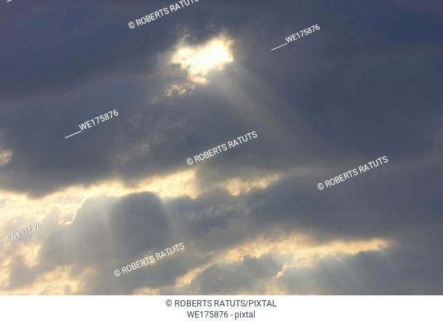 Clouds and sky image collection - taken in different periods from one sight