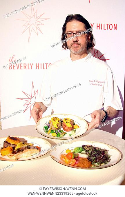 73rd Annual Golden Globes Menu Preview Featuring: Chef Troy Thompson Where: Beverly Hills, California, United States When: 04 Jan 2016 Credit: FayesVision/WENN