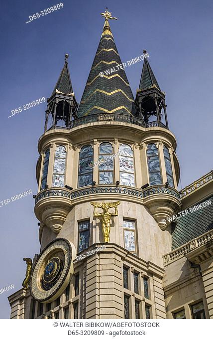 Georgia, Batumi, Astronomical Clock Building