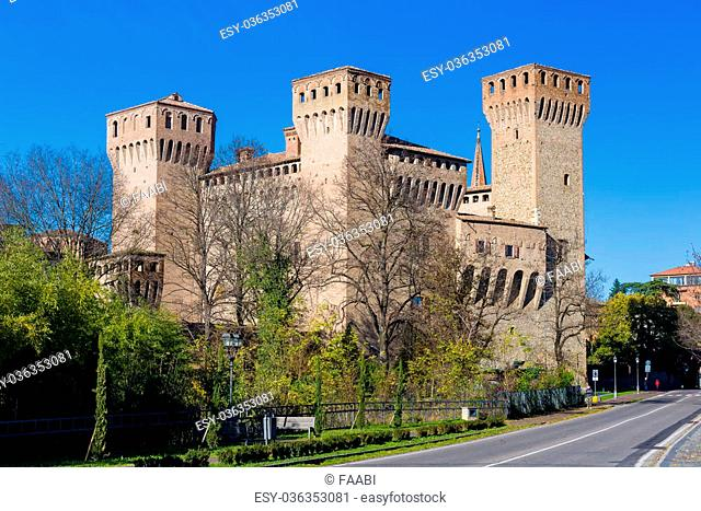 Ancient medieval castle situated in Vignola, near