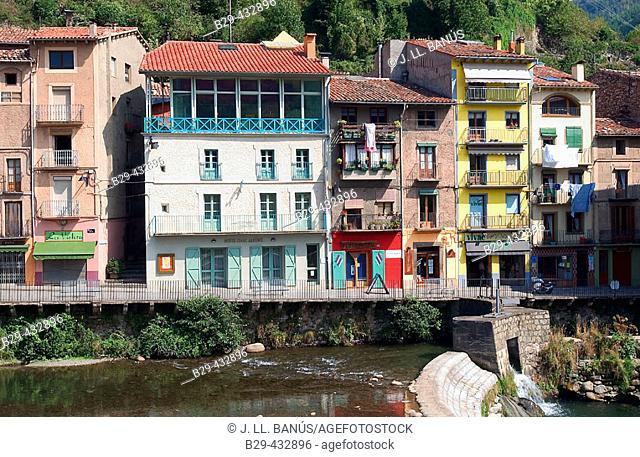 Camprodon. Girona province, Catalonia. Spain