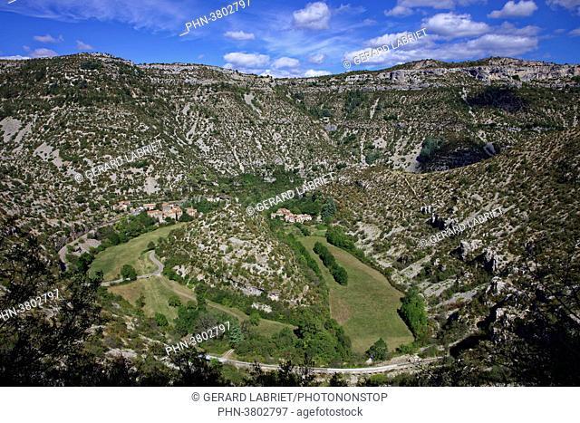 France, Herault, Saint Maurice de Navacelle, Navacelles cirque, gorges of la Vis