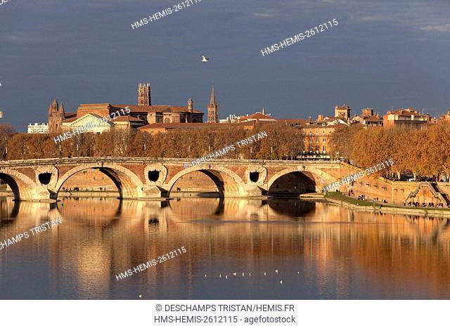 France, Haute Garonne, Toulouse, Pont Neuf