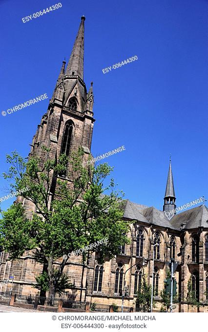 Elisabeth Church, Marburg, Hesse, Germany, Europe