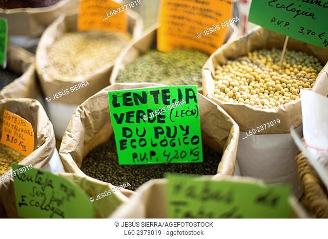 Market La Coruña Galicia Spain