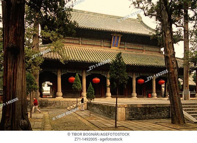 China, Shandong, Qufu, Zouxian, Mencius Temple