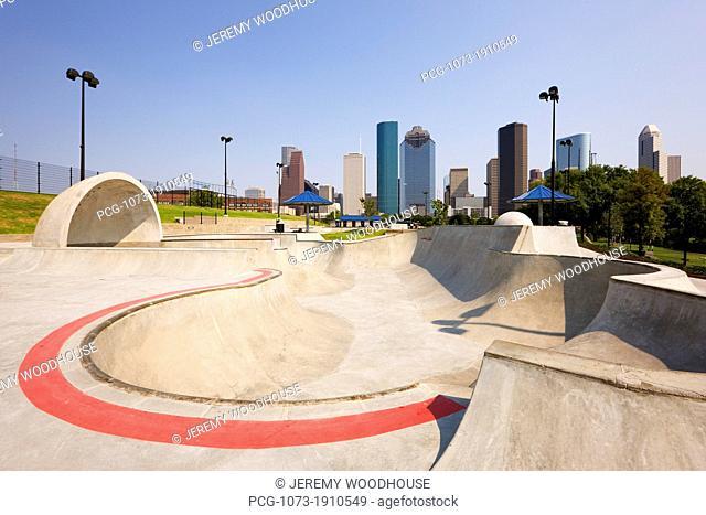 Skate Park in Houston