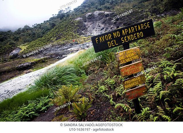 Termales de San Juan, National Park Puracé, Colombia