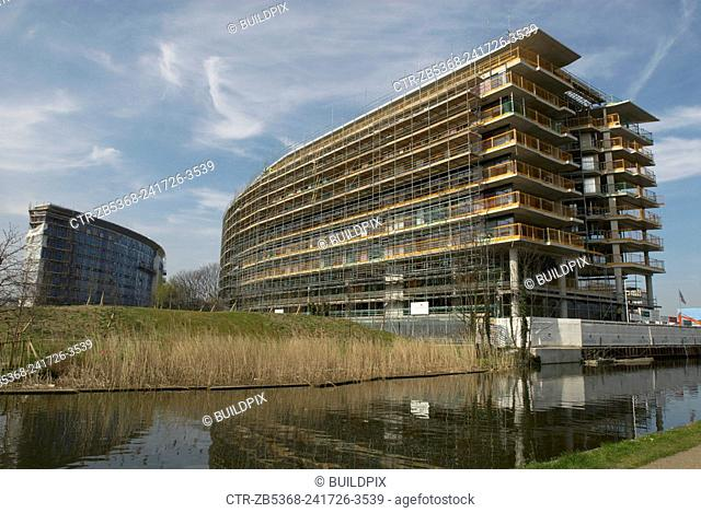 New development at Mile End, East London, UK