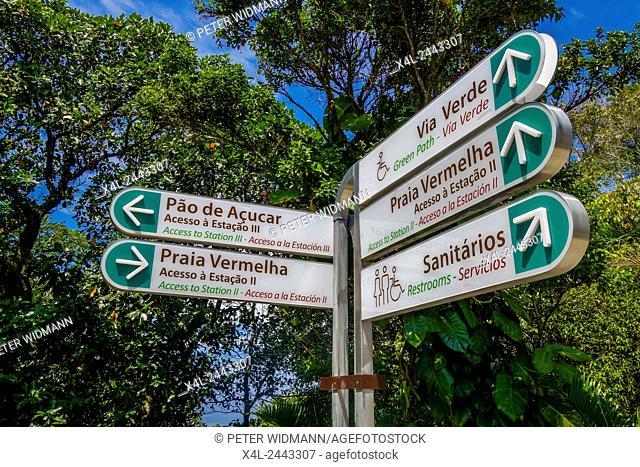 Via Verde, Pao de Acucar, Sugarloaf, Rio de Janiero, Brazil, Rio de Janeiro