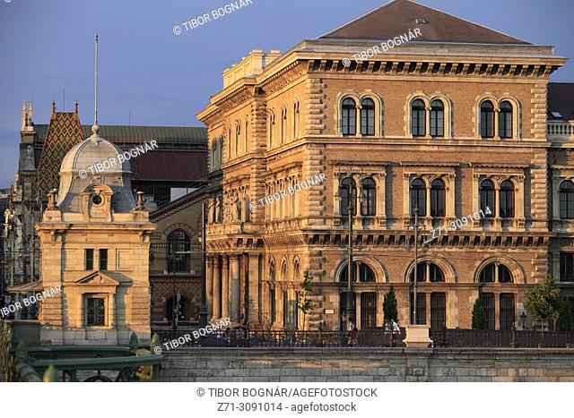 Hungary, Budapest, Corvinus University,