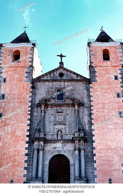 Iglesia de San Francisco Javier, San Francisco Javier Church, joint church and college built by the Company of Jesus in the 18th century, Plaza de San Jorge