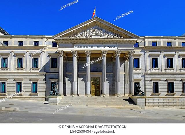 Congress of Deputies Madrid Spain ES
