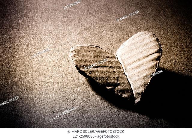 Heart, love concept