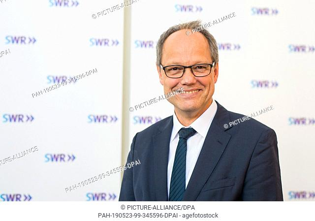 23 May 2019, Baden-Wuerttemberg, Stuttgart: Kai Gniffke, new SWR director. The editor-in-chief of ARD-aktuell has been elected the new director of...