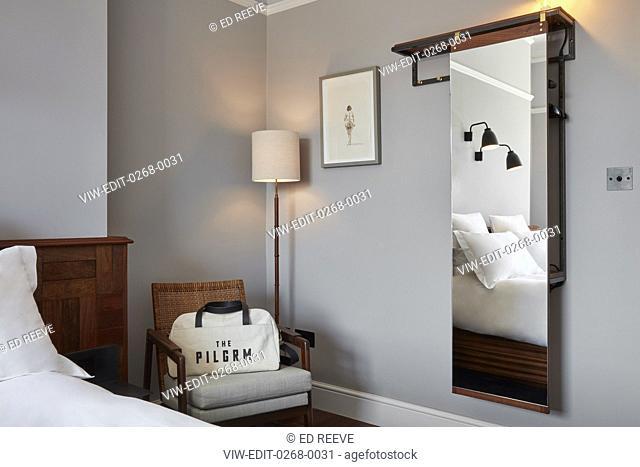 Bedroom at The Pilgrm. The Pilgrm, Paddington., London, United Kingdom. Architect: n/a, 2017