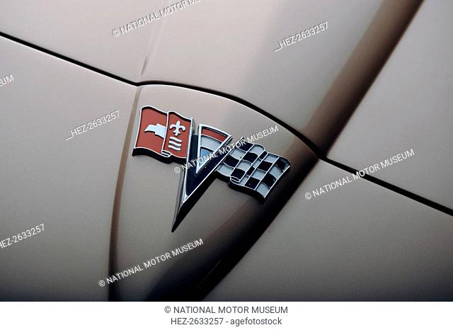 Chevrolet Corvette Stingray convertible 1964. Artist: Simon Clay