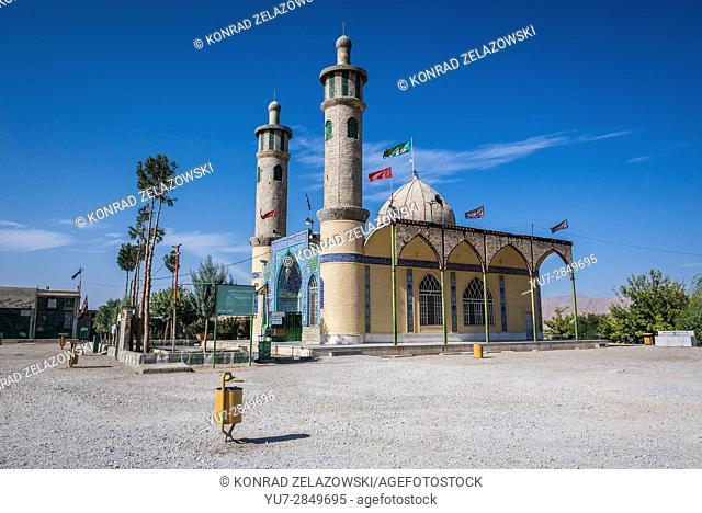 Small mosque near Yazd city in Iran
