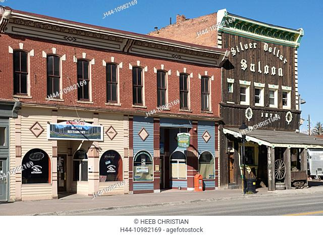 Silver Dollar Saloon in Leadville