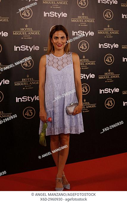 Toni Acosta attends el jardin de Miguel Angel and In Style beauty night in Madrid, May, 24, 2017 (Photo by Angel Manzano).